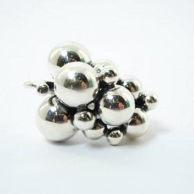 Charlotte Lynggaard ring, 18 karat hvidguld med diamant